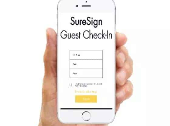 qr code guest registration service free