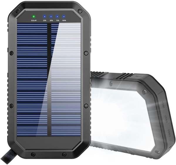 GoerTek 25000mAh Solar Power Bank